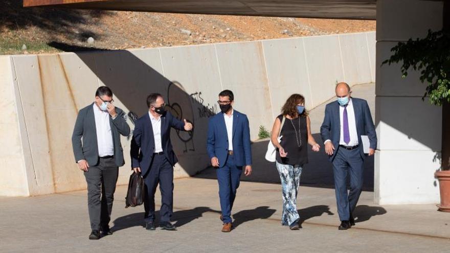 El Govern balear garantiza que buscará fondos para la segunda fase del Palacio de Congresos