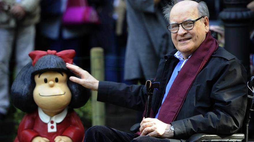 Muere Quino, el padre de Mafalda, a los 88 años