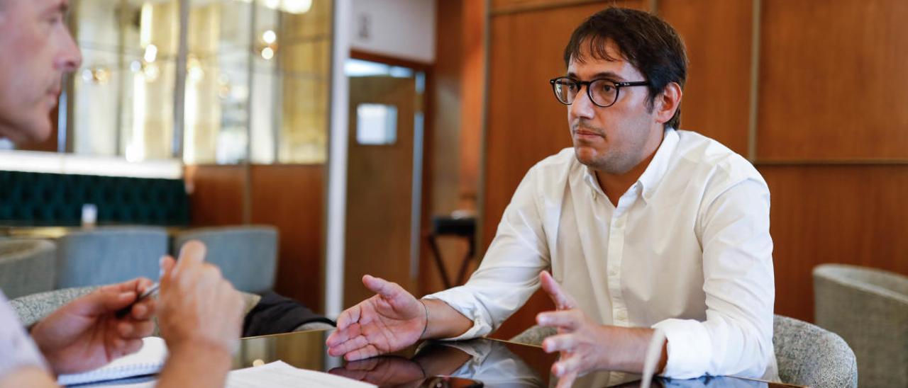 El conseller de Modelo Economico, Turismo y trabajo del Govern, Iago Negueruela, en una imagen de archivo.