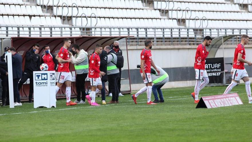 El Real Murcia se deja sorprender por el Lorca Deportiva