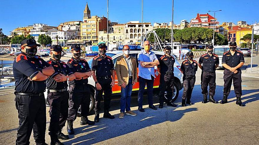 Presenten l'Associació de Protecció Civil de Palamós