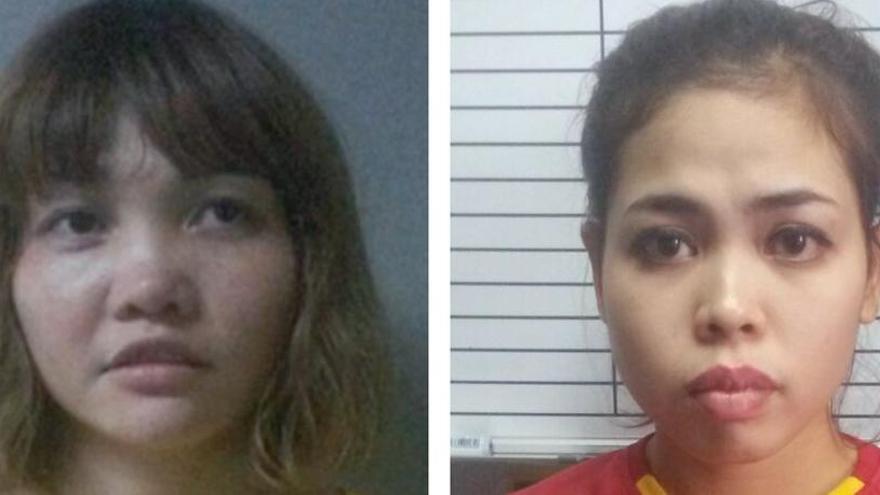 Las acusadas de matar a Kim Jong-nam se declaran inocentes