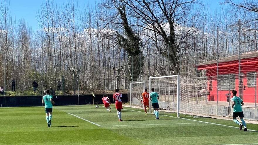 El Girona B empata amb el Granollers i jugarà la fase d'ascens