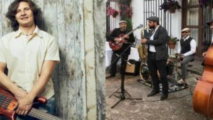 Rubén Rubio y Swing Ton ni son & Aurora Samino