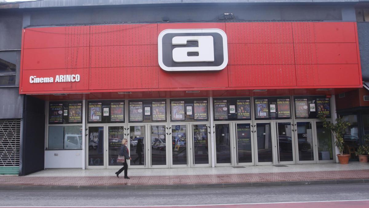 El cinema Arinco va reobrir l'abril de l'any passat, foto d'arxiu