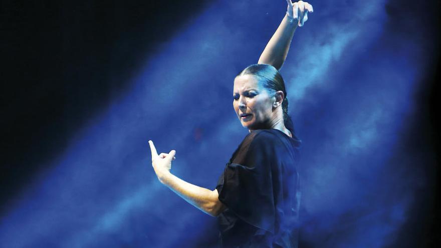 """Sara Baras: """"El flamenco no entiende de fronteras, es un arte que se clava en el corazón"""""""