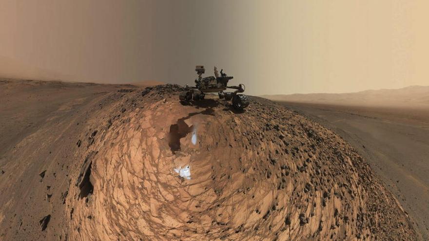 Mart pot tenir oxigen suficient per albergar vida