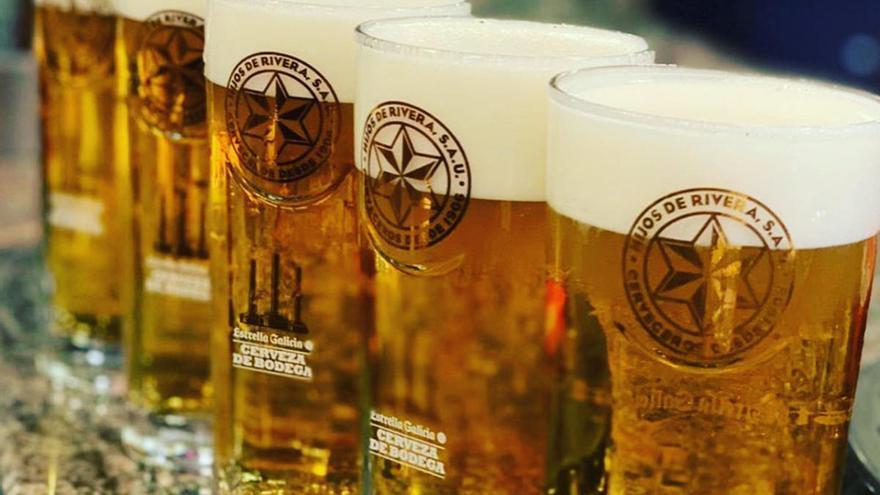Las tres mejores cervezas el mundo se hacen en Galicia