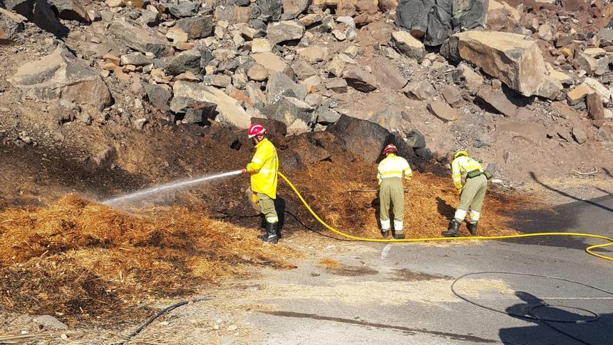 Conato de incendio en Valle Gran Rey