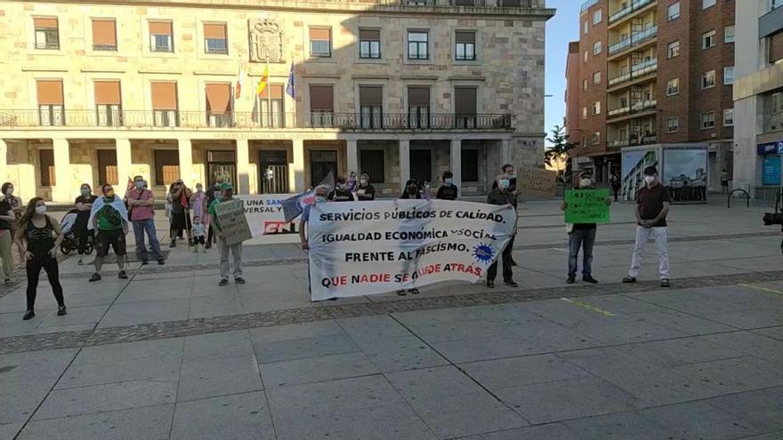 """La plataforma """"Plan de choque social"""" pide servicios públicos de calidad para Zamora"""