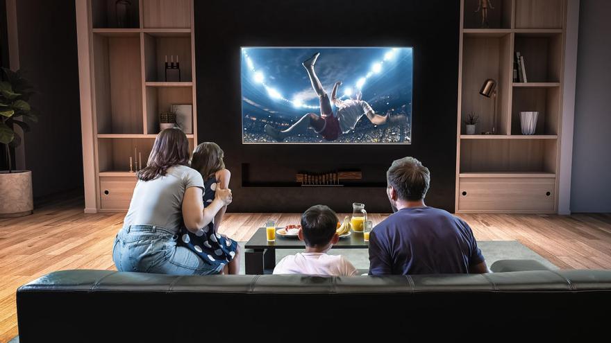 El consumo televisivo de cada español aumenta a 3 horas y 36 minutos de media al día