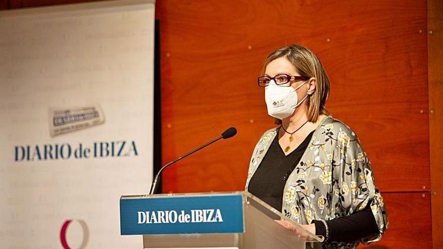La consellera de Bienestar Social, Carolina Escandell.