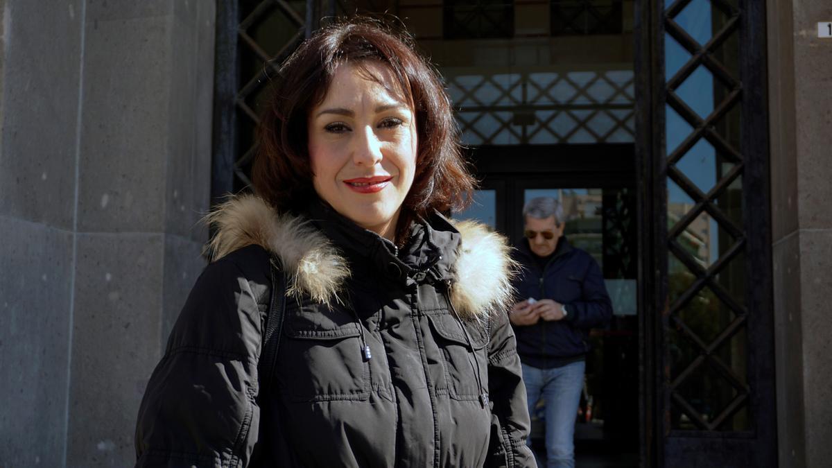 """Juana Rivas, de vuelta en España, asegura que """"colaborará con la Justicia""""."""