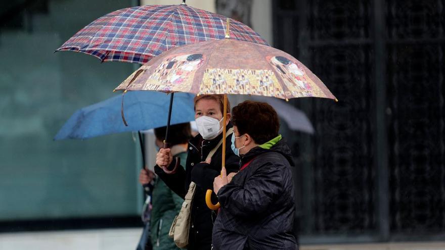 Tiempo en Valencia: vuelven las lluvias este domingo