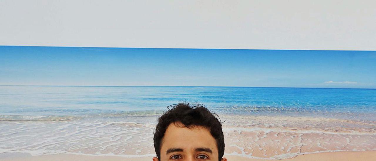 Álvaro Muñoz, en su despacho profesional, esta semana.