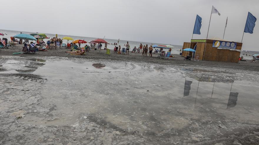 Climatología alerta de que el  «tsunami» de Santa Pola puede repetirse en toda la franja litoral
