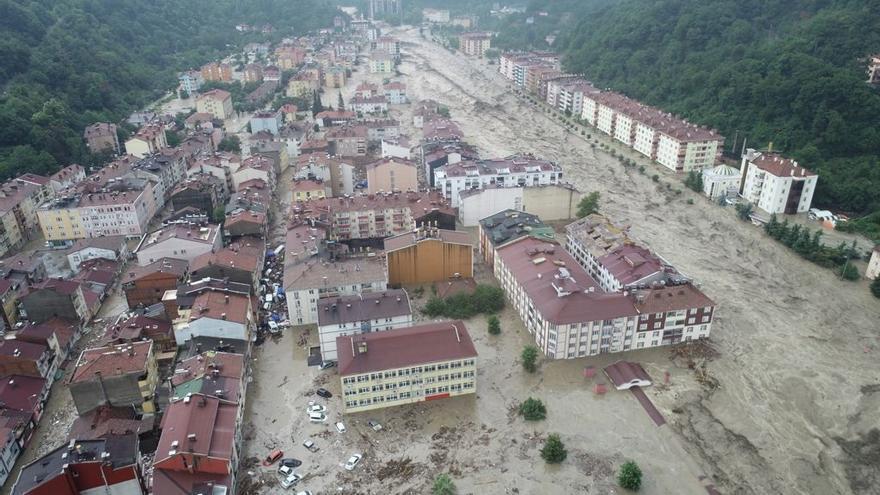 Más de diez muertos tras las lluvias torrenciales en el norte de Turquía