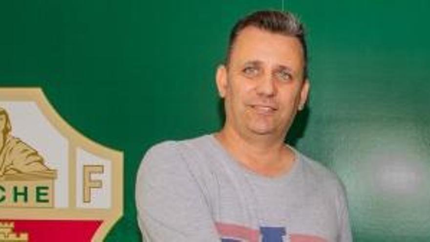Juan Carlos Guillamón, seleccionador murciano sub-19
