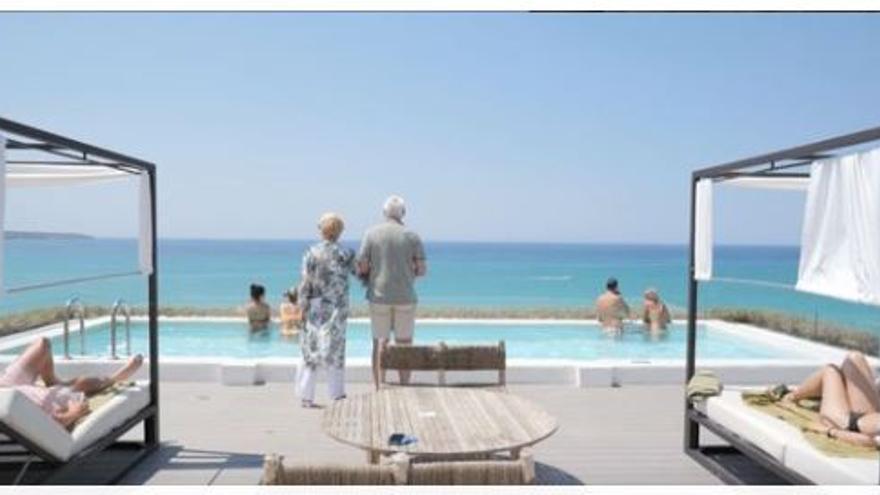 Jacques e Irina: cincuenta y un años veraneando en el HM Tropical de Playa de Palma