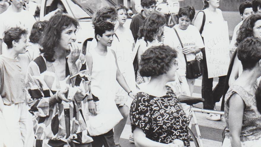 La marcha del Orgullo cumple 42 años en València