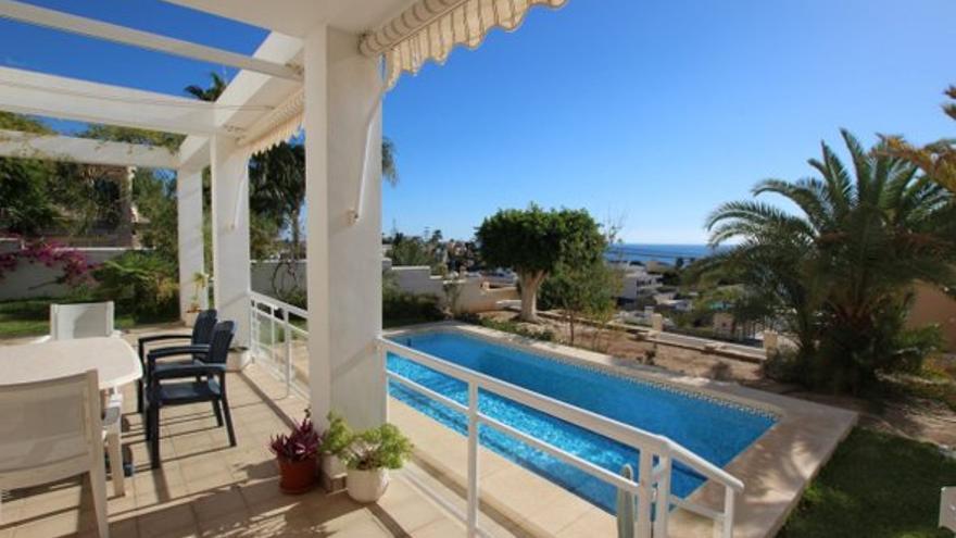 Casas en venta con vistas al mar en Villajoyosa
