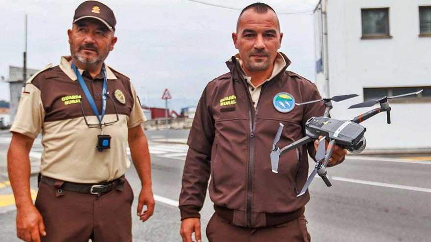 A Illa será la primera cofradía gallega en vigilar sus zonas marisqueras con un dron