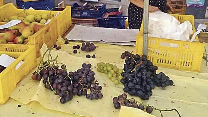 Dulce y refrescante uva para tomar como postre