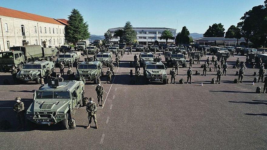 La Brilat supera otro examen para integrarse en 2021 en la Brigada VJTF de la OTAN