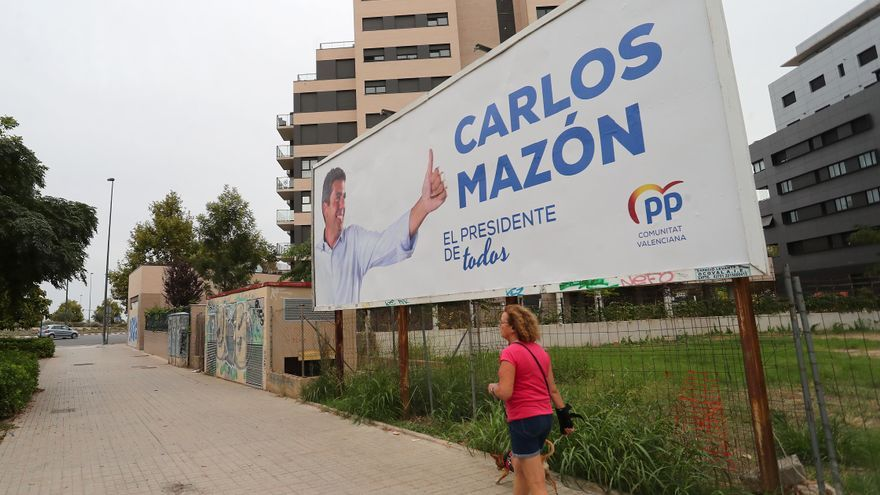 El PPCV gasta 43.480 euros en la campaña para promocionar a Mazón