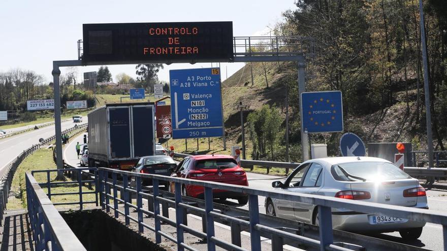 Reabren tres pasos fronterizos entre Galicia y Portugal
