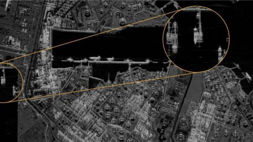 Un nuevo satélite puede mirar dentro de los edificios