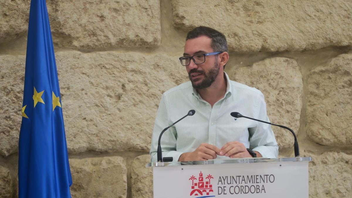 El concejal del PSOE en el Ayuntamiento de Córdoba José Antonio Romero.