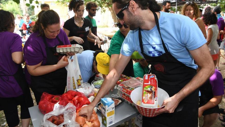 Concurso de Tortilla 'in situ' en Sada