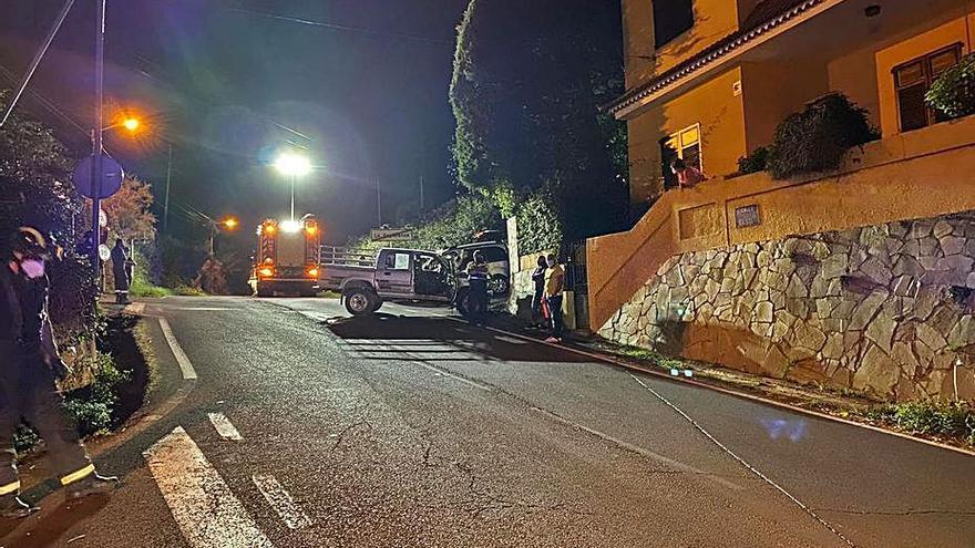 El alcalde de El Rosario urge la reforma de la calle El Sol tras un accidente