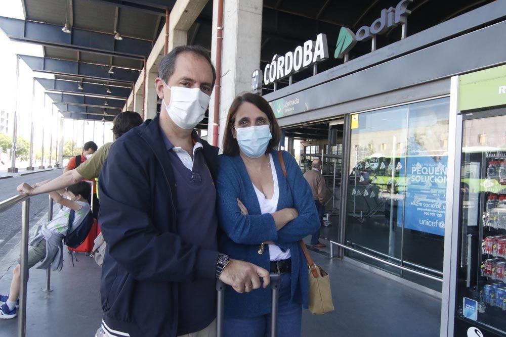 Fin del cierre perimetral de Andalucía, llegada de viajeros y turistas a Córdoba