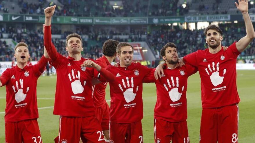 El Bayern gana la Bundesliga por quinto año consecutivo
