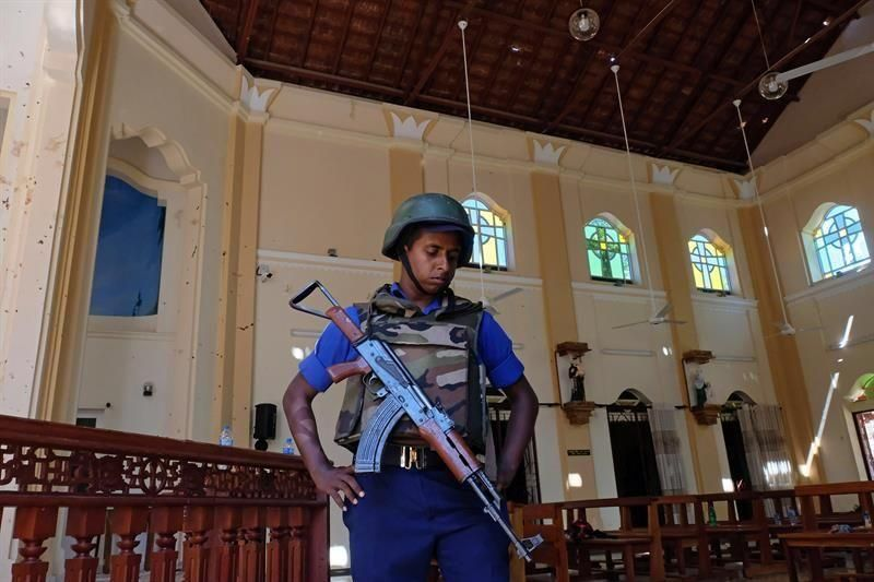 Atentado en Sri Lanka