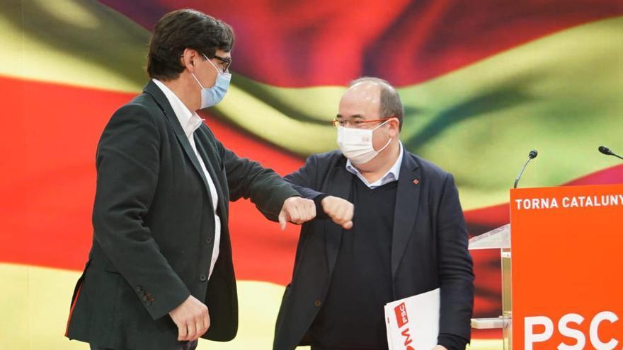 Miquel Iceta és el nou ministre de Política Territorial i Carolina Darias de Sanitat