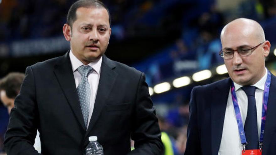 Lim destituye al director de comunicación del Valencia CF