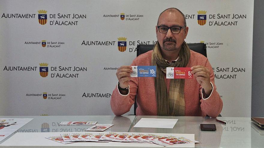 Solo 32 comercios de Sant Joan se reparten 300.000 euros de bonos para el consumo
