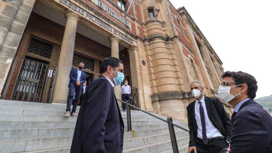 La antigua Escuela Industrial de Alcoy seguirá formando alumnos