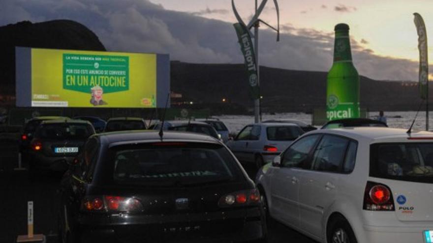El parque Juan Pablo II estrena 'Tardes de autocine'