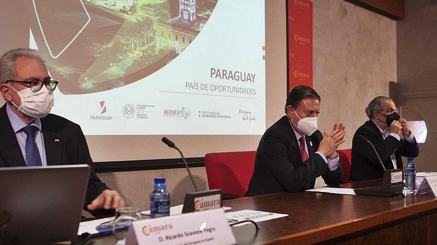 """Canteli: """"Paraguay y Asturias tienen más cosas en común de las que pensamos"""""""