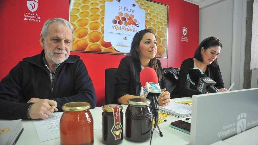 Apisalnés mostrará en Vilagarcía todo el buen hacer de las abejas