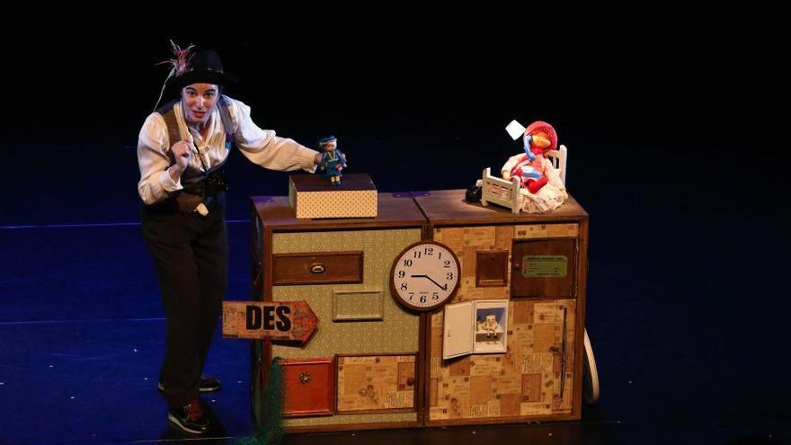 El festival de marionetas registra una buena acogida en su primera etapa