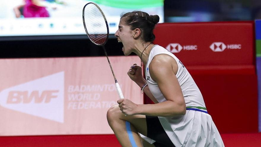 Carolina Marín gana el Abierto de Tailandia ante la número 1 del mundo