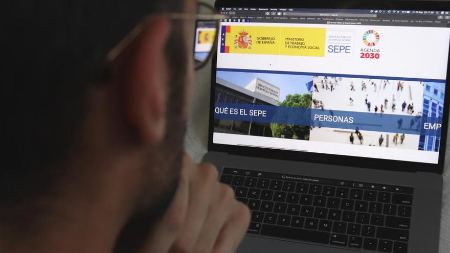 El SEPE no ha pagat l'atur a cap nou desocupat des del 12 d'agost a la demarcació de Barcelona