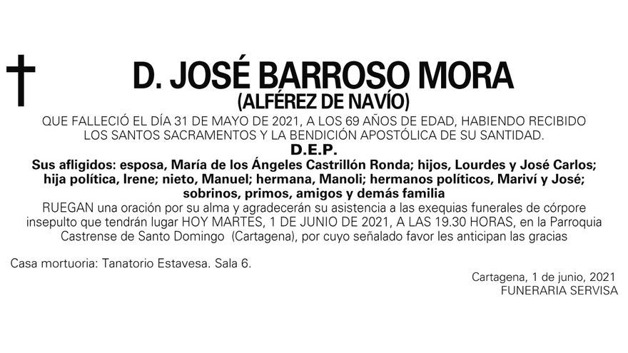 D. José Barroso Mora