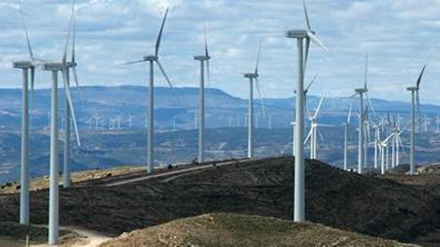 La Generalitat frena una inversión de 200 millones en parques eólicos