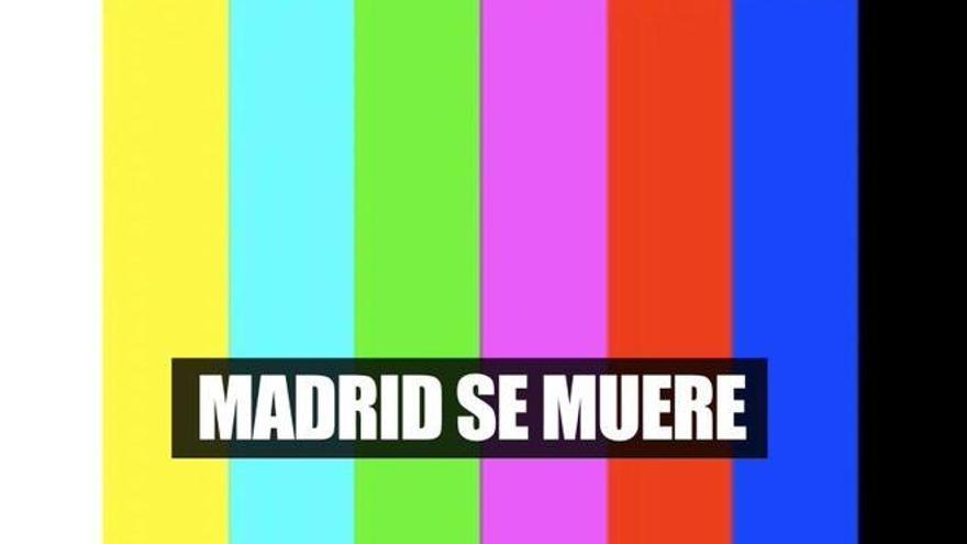 """""""Madrid se muere"""", el mensaje viral que ha sacudido las televisiones madrileñas"""